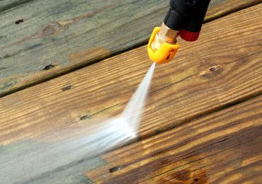 Decking Pressure Washing
