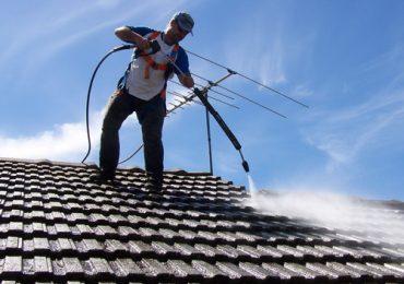 Roof Top Pressure Wash
