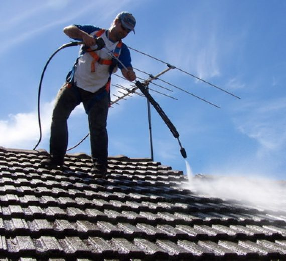 Roof Top Pressure Wash